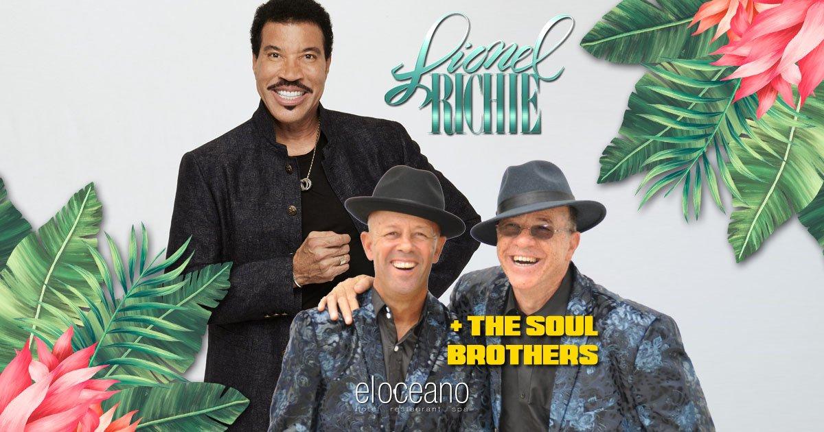 Lionel Richie & The Soul Brothers OG01