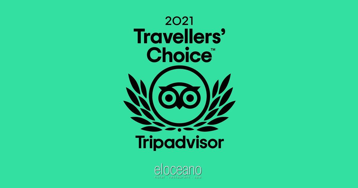 TripAdvisor 2021 Travellers Choice Awards Winner - El Oceano Restaurant OG01