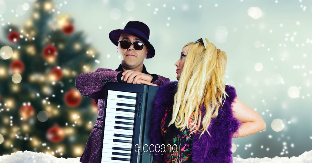 Christmas Eve 2021 at El Oceano Hotel with Zing Duo 3