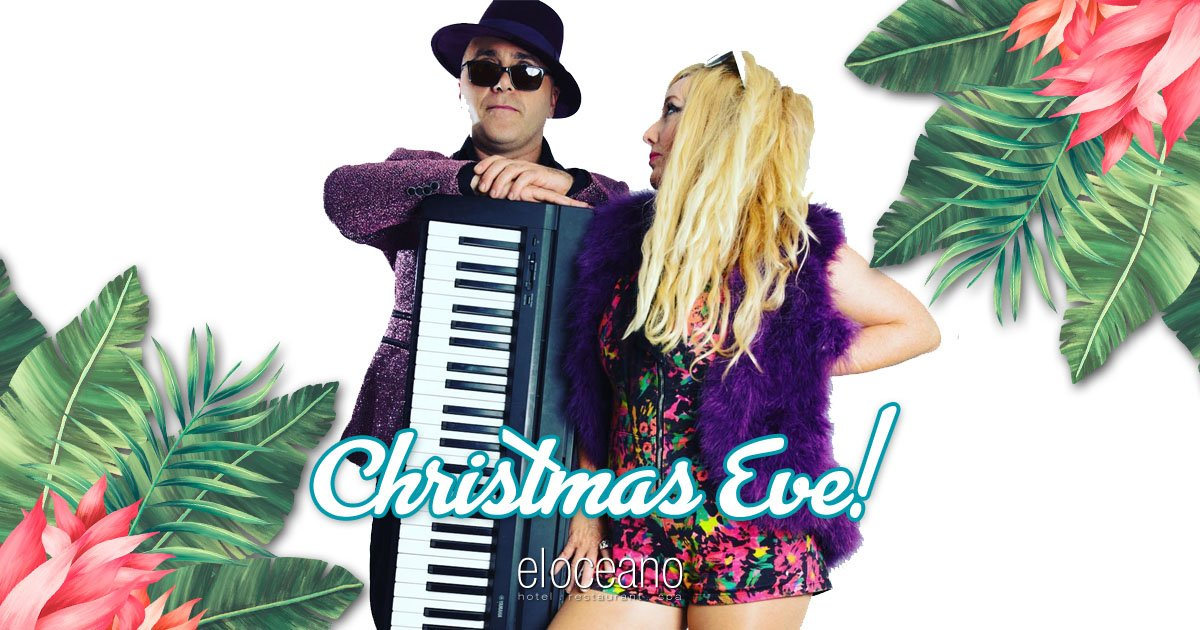 Christmas Eve 2021 at El Oceano Hotel with Zing Duo