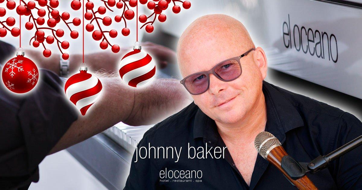 Johnny Baker at Christmas 2021
